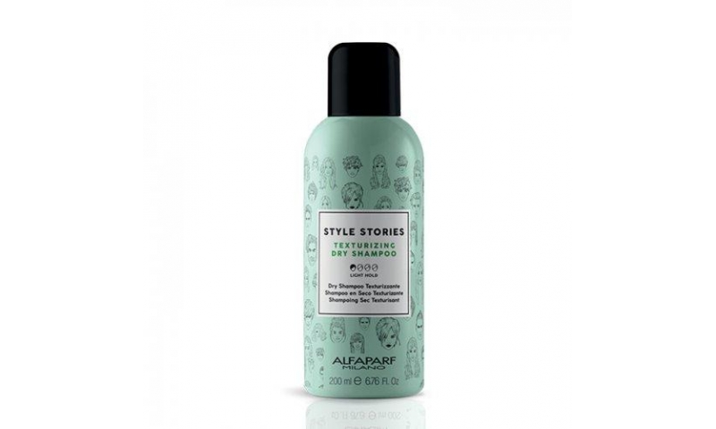 Style Stories texturizing dry shampoo.